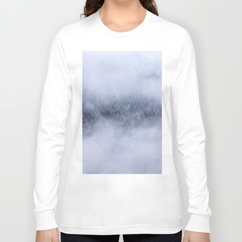 Beneath The Fog Long Sleeve T-shirt by Mixed Imagery