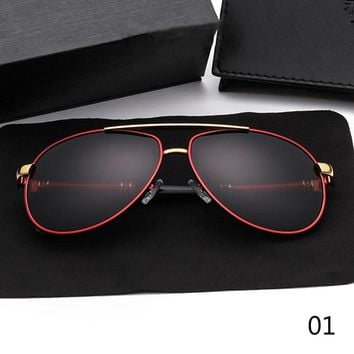 Classic Men's Toad Sunglasses Brand Designer Pilot Polarized Male Sun Glasses Eyeglasses gafas oculos de sol masculino For Men