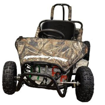 Monster Moto MM-K80RT 79.5cc Go Kart - Realtree Design