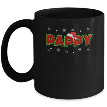 DCKIJ3 Pappy Christmas Santa Ugly Sweater Gift Mug