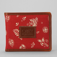 OBEY Skyway Print Wallet