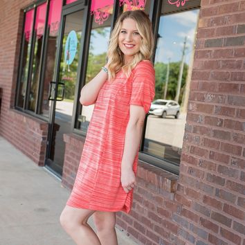 Clarity coral Dress