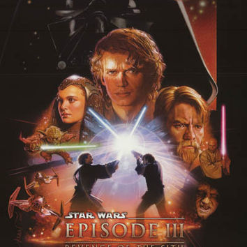Star Wars Episode III Revenge of the Sith Poster 22x34
