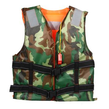 Adult Polyester Swimming Life Jacket Professional Boating Ski Vest For Drifting Survival Safety Jacket Water Sport Wear