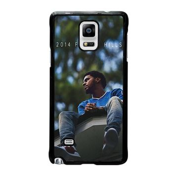 J. COLE FOREST HILLS Samsung Galaxy Note 4 Case Cover