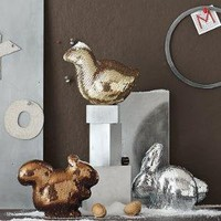 Sequin Animal, Squirrel, Bronze | west elm