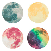 Fluorescent Moon Wall Sticker