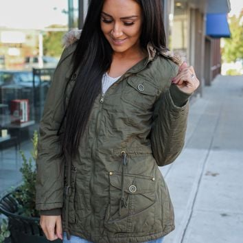 Road Worthy Coat - Olive