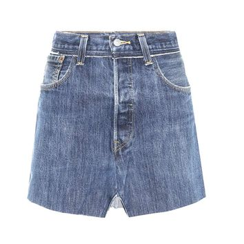 X Levi's® denim skirt