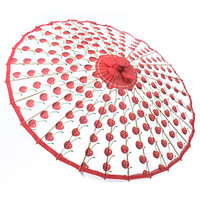Cherry Go-Round Parasol - Unique Vintage - Prom dresses, retro dresses, retro swimsuits.