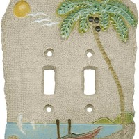 PALM TREE ISLAND Switch Plates - Outlet Covers