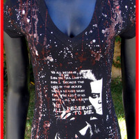 DiY Sweeney Todd Top Tim Burton Johnny Depp You choose the size