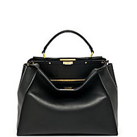Fendi - Peekaboo Large Satchel - Saks Fifth Avenue Mobile