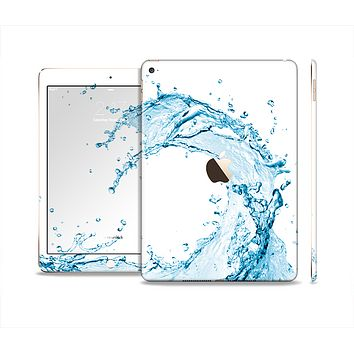 The Water Splashing Wave Skin Set for the Apple iPad Air 2