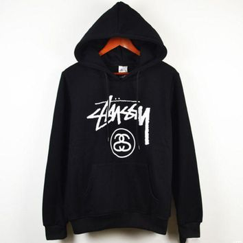 CREYV9O Stussy Casual Sport Running Hooded Top Sweater Sweatshirt Hoodie