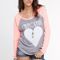 Billabong CA Heart Tee at PacSun.com