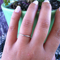 Sterling Silver Stacking Ring , Midi Rings , Wedding Party Gift , Bridesmaid Gift , Wedding Favor