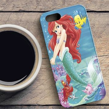 The Little Mermaid Party iPhone SE Case