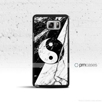 Marble Yin Yang Case Cover for Samsung Galaxy S & Note Series