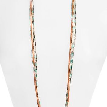 Chan Luu Patterned Seed Bead Strand Necklace | Nordstrom