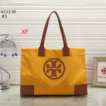 Tory Burch 2018 new women's waterproof bag shopping bag tote bag shoulder bag #5