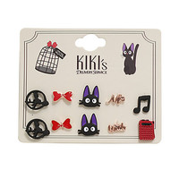 Studio Ghibli Kiki's Delivery Service Earrings 5 Pair