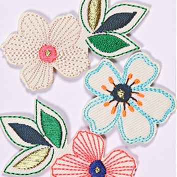 Flowers Iron On Patch