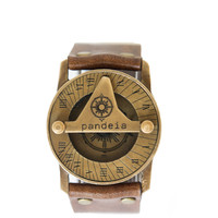 Pandeia Sundial Watch Sandalwood