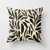 Tar & Feather Throw Pillow by Skye Zambrana | Society6