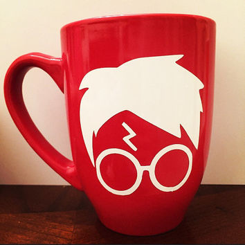 Red Harry Potter Coffee Mug