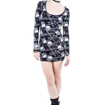 Iron Fist Barbed Wire Bodycon Dress