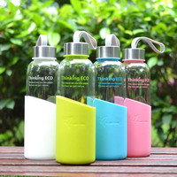 Slilicone Sleeve Water Bottle