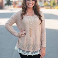 Layers of Lace Sweater