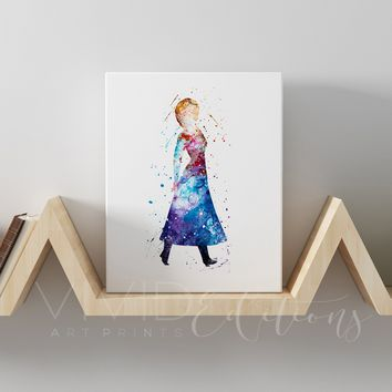 Anna, Frozen Gallery Wrapped Canvas