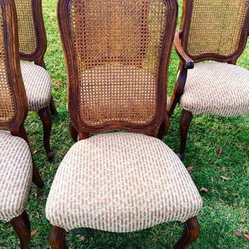 Set of 4 French Chic Dining Room Chairs
