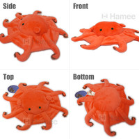 Strapya World : Deep Sea Creature Flapjack Octopus Plush (Flat/29 cm)