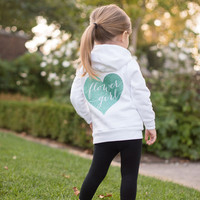 Flower Girl Hoodie, Flower Girl Shirt, Flower Girl Gift, Bridal Party Gifts, Wedding Day Apparel, Bridesmaid gifts, Flower Girl Sweatshirt