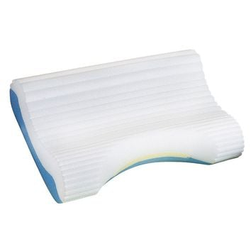 Contour Cloud Memory Foam Pillow (White)