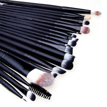 Pro Makeup 20pcs Brushes Set Powder Foundation Eyeshadow Eyeliner Lip Brush Tool  AP = 1651188484