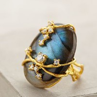 Vineyard Labradorite Ring by Indulgems Slate