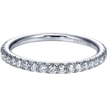 "Gabriel Amavida ""Mykonos"" Diamond Wedding Ring"