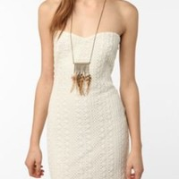 UrbanOutfitters.com > Sparkle & Fade Strapless Crocheted Dress