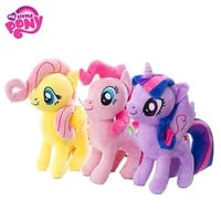 22 30 40cm My Little Pony Toy Stuffed Plush Doll Movie&TV Action Figure Toy Friendship Is Magic For Children Present