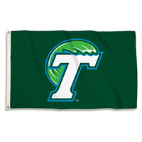3 Ft. X 5 Ft. Flag W/Grommets Tulane Green Wave - 23026