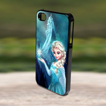 Accessories Print Hard Case for iPhone 4/4s, 5, 5s, 5c, Samsung S3, and S4 - Disney Frozen Princess Elsa