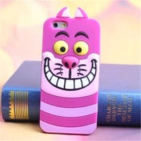 Topit Iphone 6 Plus 5 5 Cute Cartoon 3d Blue Monster Jump Tigger Series Soft Sil...