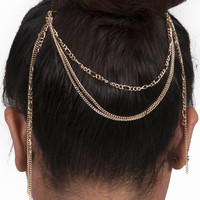 Three layer Hair Chain