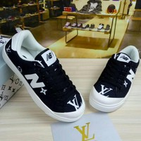 New Balance LV Fashion Casual All-match N Words Breathable Couple Sneakers Shoes H-JJ-MYZDL