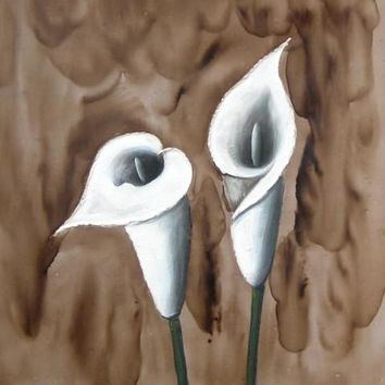 Calla Lilies Art Oil Painting