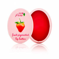 100 Percent Pure Fruit Pigmented Lip Butter - Strawberry at DermStore